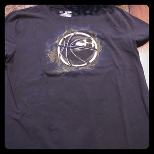 Under armour basketball graphic T-shirt